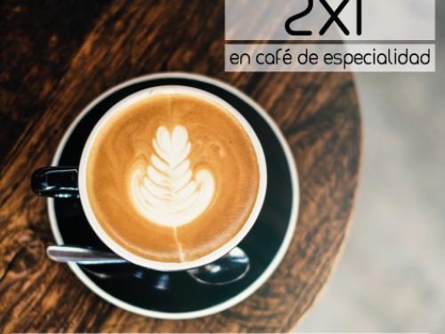 ¡Descarga ya tu cupón 2x1 y disfruta del mejor café de especialidad!