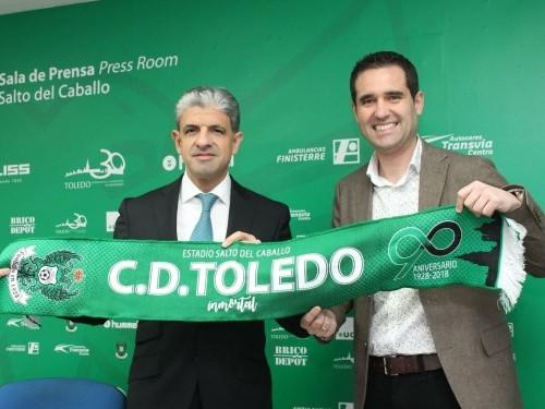 Qualery firma un acuerdo de patrocinio con el Club Deportivo Toledo y se convierte en su proveedor oficial de café.